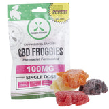 SOURZ CBD Froggies - Cannabidiol Edibles - 100mg - 4pk