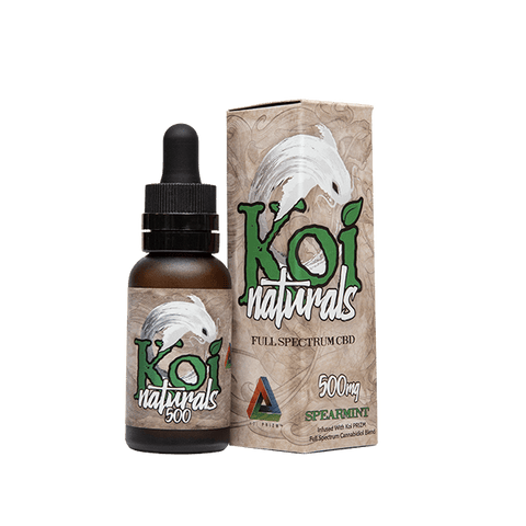 Koi Naturals -  Spearmint CBD Oil Tincture - 30ml
