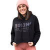 Women's Boxing Los Angeles Cropped Hoodie