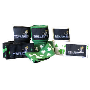 Kez Edition Shamrock Hand Wraps