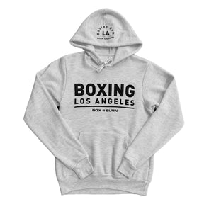 Boxing Los Angeles Ash White Hoodie