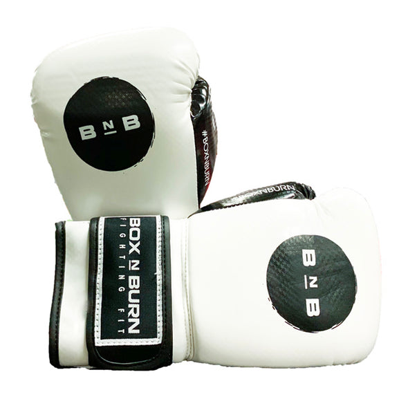 White Training Gloves with BNB Logo