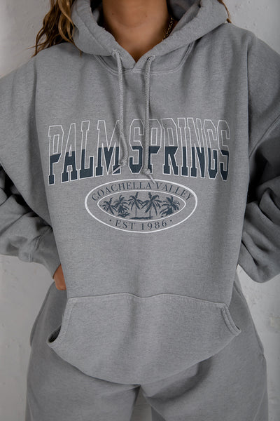 Palm Springs Washed Sage Hoody