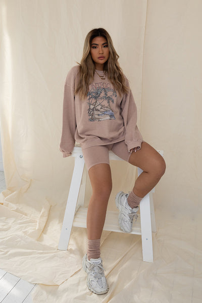 Montego Bay Washed Sweater