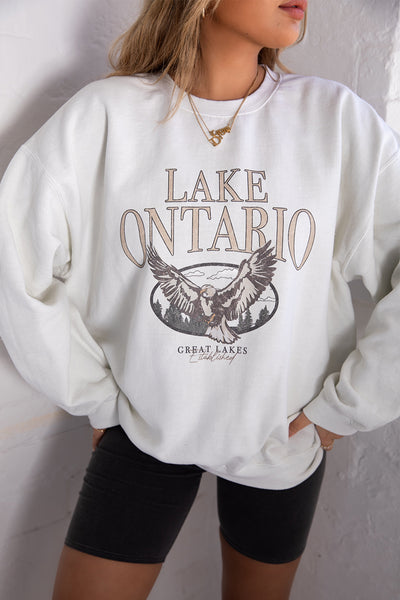 Lake Ontario Washed Sweater