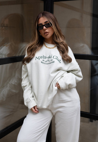 Apres Ski Embroidered Sweater