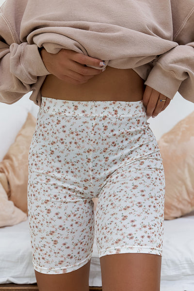 Ditsy Floral High Waisted Cycling Shorts