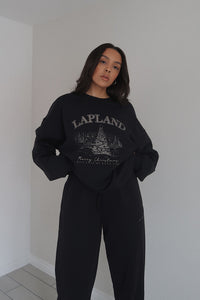 Lapland Black Sweater
