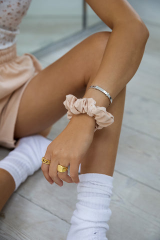 Peach Scrunchie