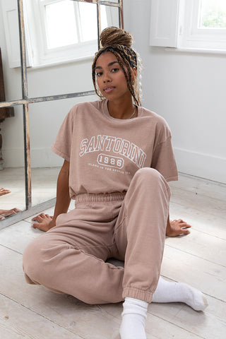 Santorini Washed Tee