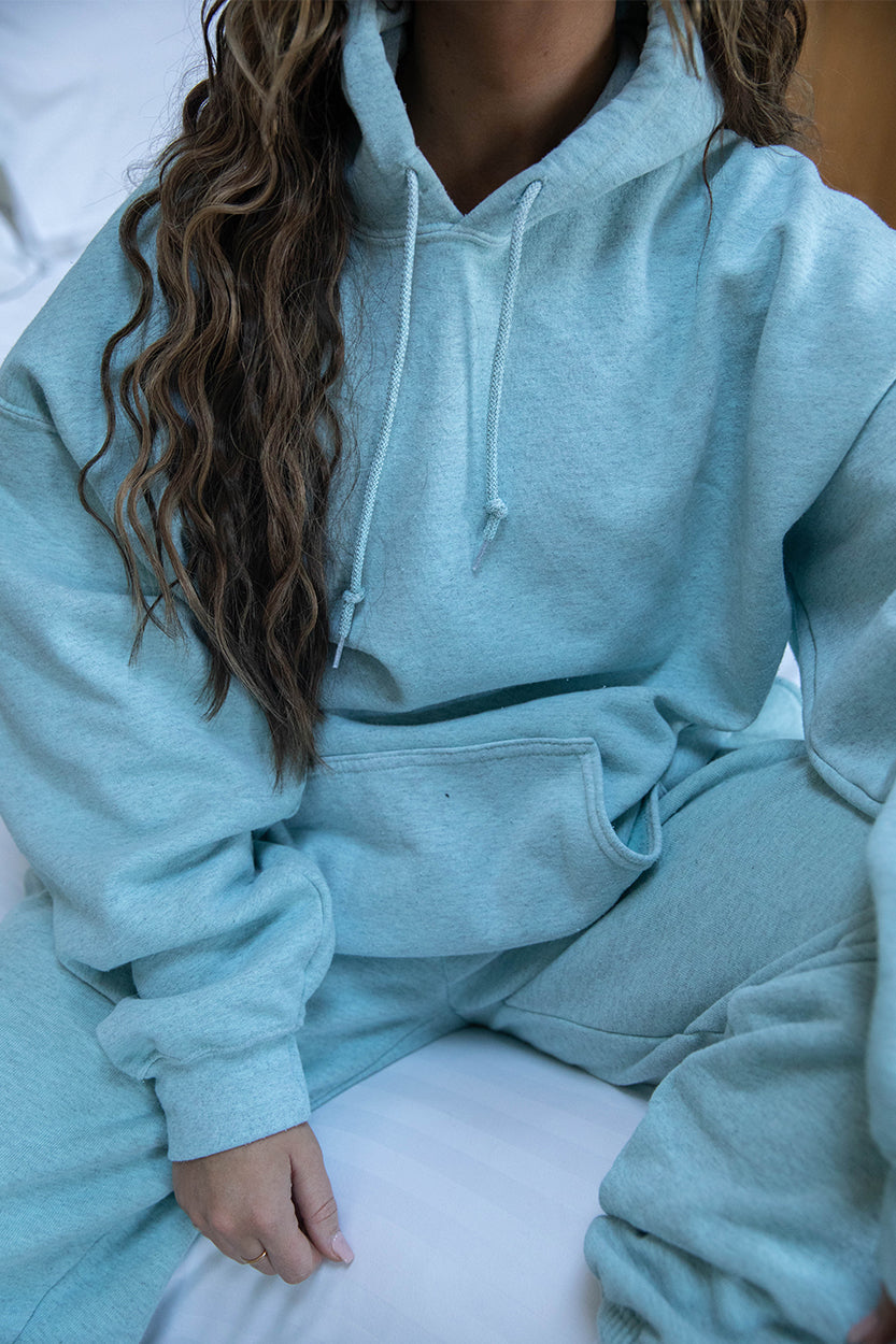 Washed Mint Hoody