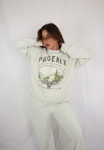 Washed Ivory Phoenix Sweater
