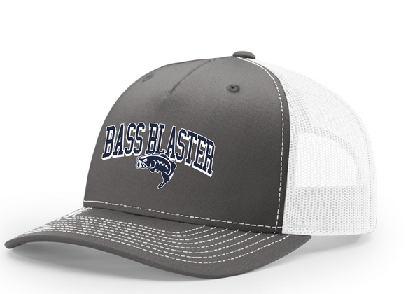 BassBlaster Shadow Richardson Trucker Twill Mesh Snapback Cap
