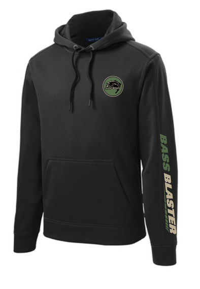 BassBlaster Circle Logo Sport-Wick® Fleece Hooded Pullover