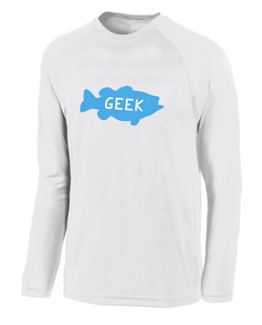 Bass Geek Long Sleeve Perfomance Tee