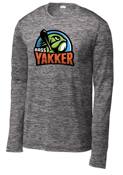 Bass Yakker PosiCharge® Electric Heather Long Sleeve Tee