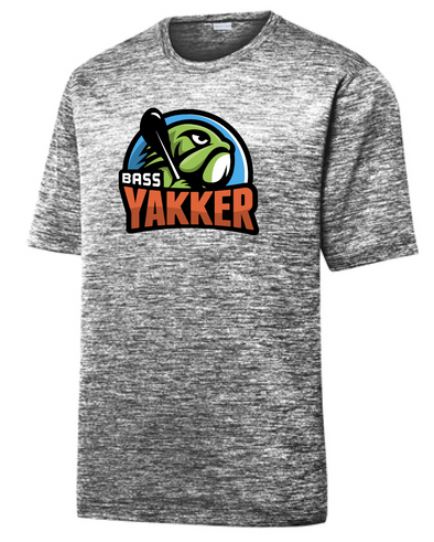 Bass Yakker PosiCharge® Electric Heather Tee