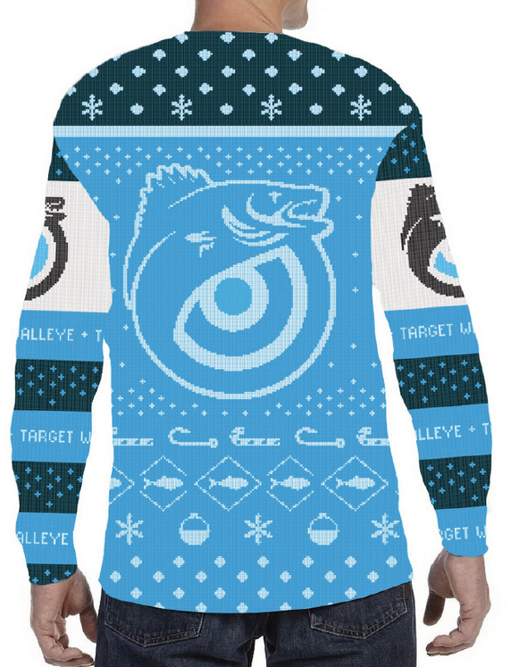 Target Walleye Ugly Fishmas Crewneck Sweatshirt