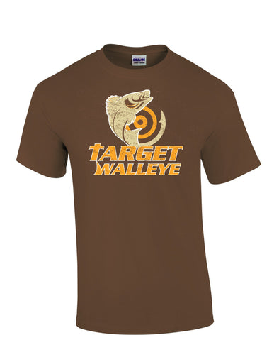 Target Walleye Distressed T-Shirt