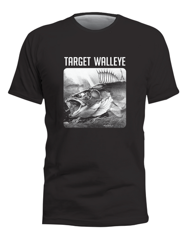 Target Walleye Fish T-Shirt