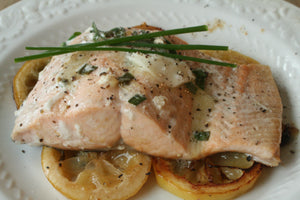 Lemon Butter Salmon - Enrollee Pricing