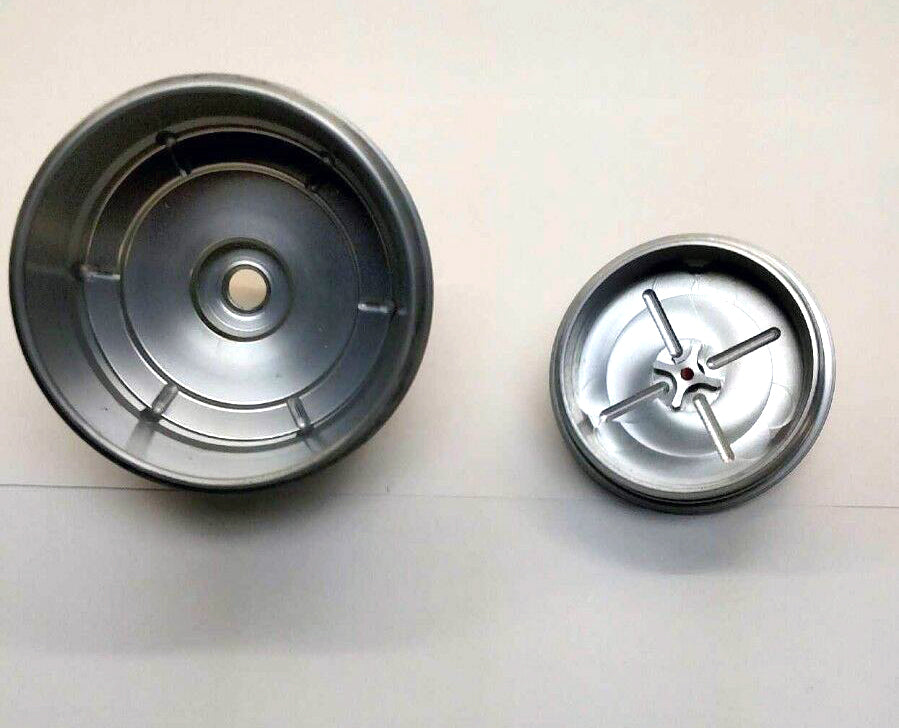 load image into gallery viewer, 6 0l ford powerstroke -aluminum fuel  filter cap &