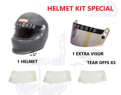 Dirt Oval Helmet Kit