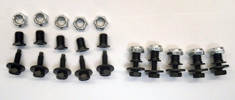 Threaded Nut Insert w/Bolt, Late Model/Mods Body Fasteners - IMCA, UMP, USMTS
