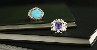 Tanzanite & Turquoise | The December Birthstones