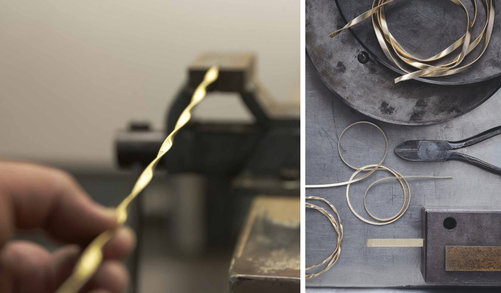 Marco Bicego Coiling process