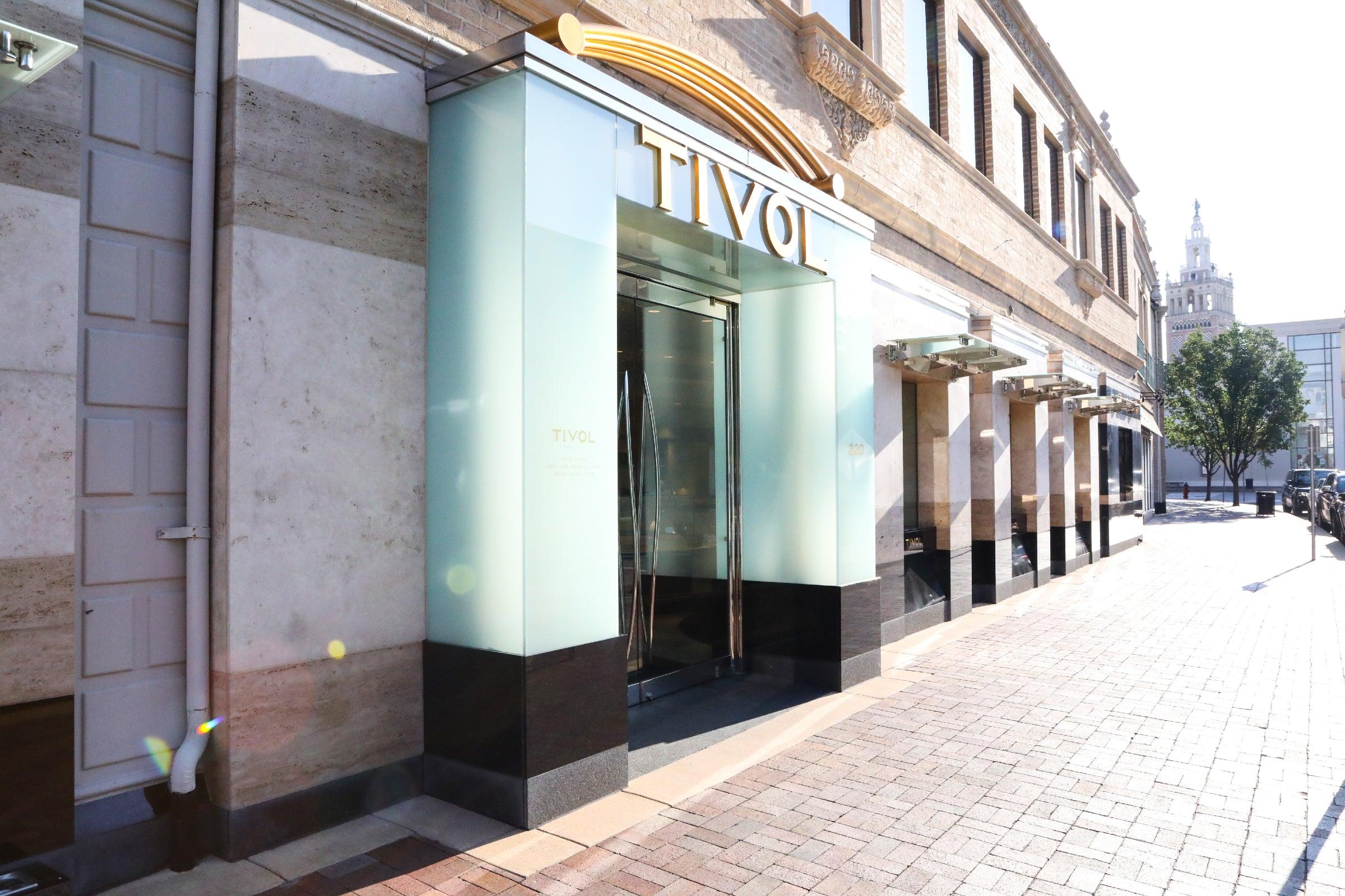 TIVOL on the Country Club Plaza Store Front