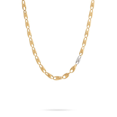 18K Yellow Gold Lucia Collection Link Necklace