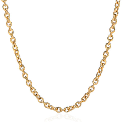 18K Yellow Gold Luxe Collection Chain Link Necklace