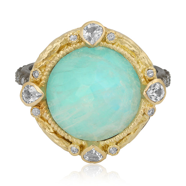 Armenta Old World Collection Moonstone Ring