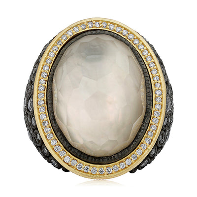 Old World Mother of Pearl Ring