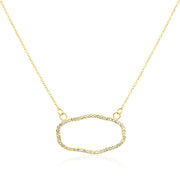 18K Yellow Gold Old World Collection Diamond Necklace