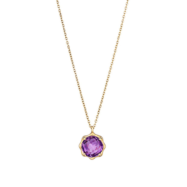 Carelle Amethyst Necklace