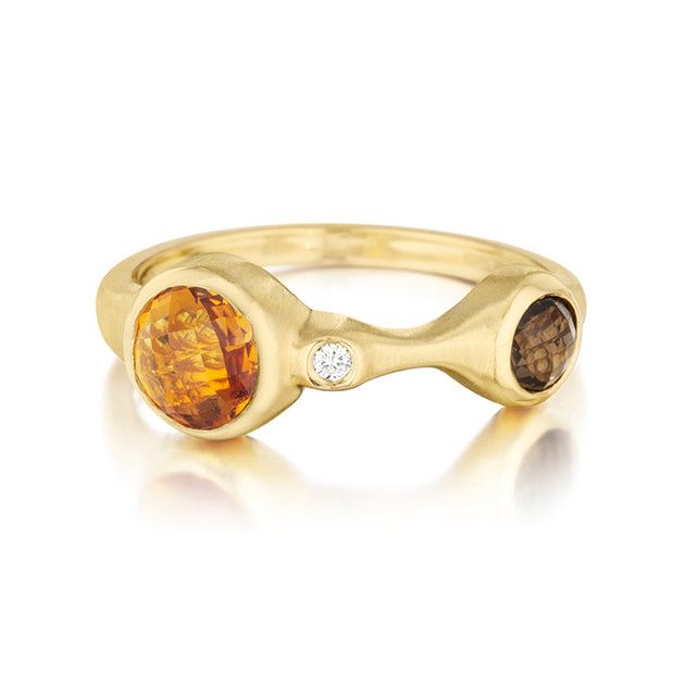 Carelle Yellow Gold Ring