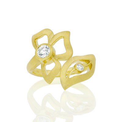 Yellow Gold Florette Ring