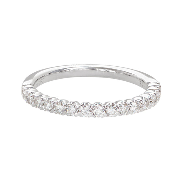 Henri Daussi Platinum Diamond Band