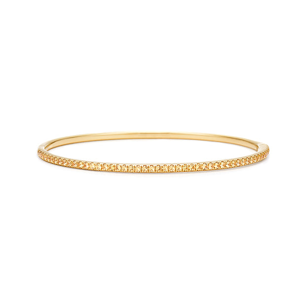18K Yellow Gold Stackable Collection Bracelet