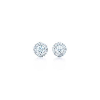 Diamond Silhouette Earrings