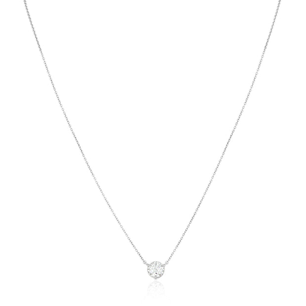 Classic Collection Necklace with a Diamond Pendant