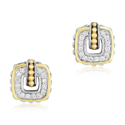 Cushion Collection Stud Earrings