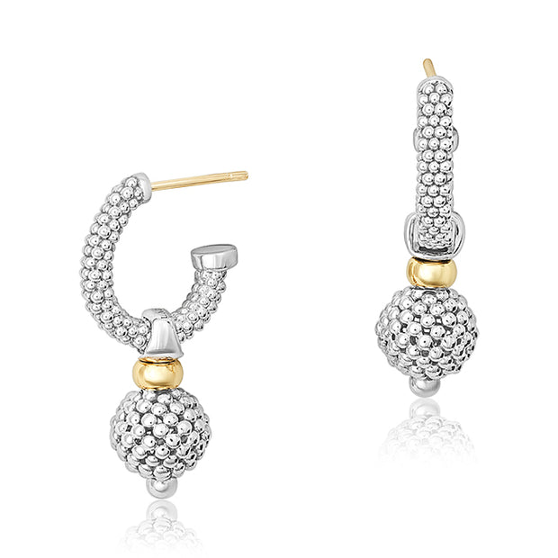 LAGOS Sterling Silver Caviar Forever Collection Earrings