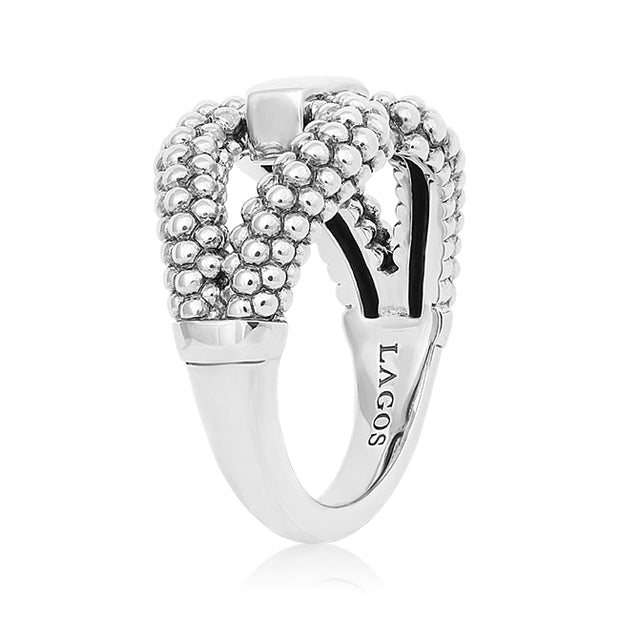 Sterling Silver Derby Collection Ring