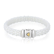 White Caviar Collection Ceramic Bracelet