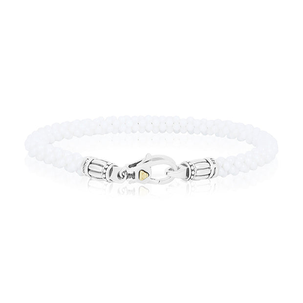 White Caviar Collection Bracelet