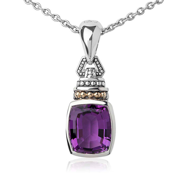 Caviar Color Collection Amethsyt Pendant