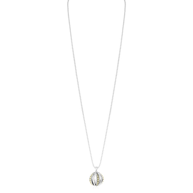Caviar Talisman Collection Sterling Silver Necklace